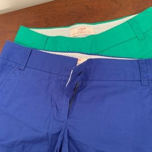 2for1– J. Crew broken in chino shorts